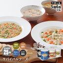 非常食セット サバイバルフーズ 大缶バラエティ6缶セット[約60食相当]チキンシチュー&野菜シチュー&洋風とり雑炊&…