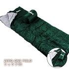 ZERO-ONEFIELDシュラフ30[収納袋付き](寝袋/ゼロワン/キャンプ/アウトドア)