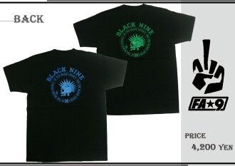 BLACK NINE S/S F A九T恤冲浪F A九盖子冲浪性交你黑色九