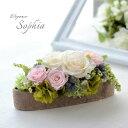 プリザーブドフラワー 手作りキット ソフィア roseアレンジ ローズ バラ 手作り ギフト プレゼント 母の日 人気 可愛い 壁掛け 贈り物 …