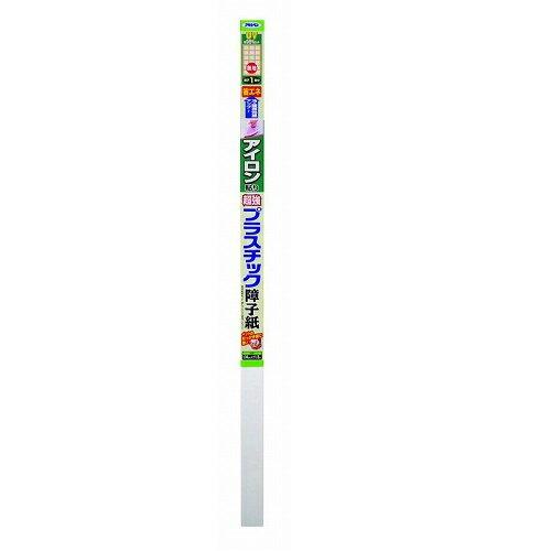 【あす楽対応】アサヒペンアイロン貼り超強プラスチック障子紙94CMX1.8M6841 無地
