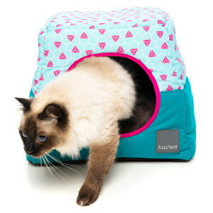 【送料無料】小屋型ベッド FuzzYard カビー タヒチ【犬/猫/おしゃれ/ベッド】