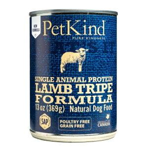 Pet Kind ペットカインド ドッグフード ザッツイット  SAPラム トライプ 缶詰 369g THAT'S IT【犬/高品質/オーガニック/ウェットフード】