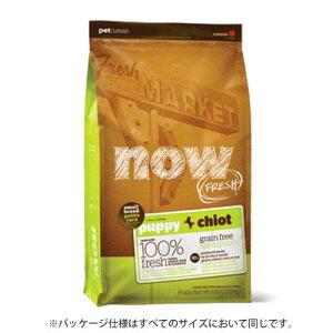 新鮮な食材 ナウフレッシュ グレインフリー スモールブリード パピー 2.72kgドッグフード NOW FRESH Grain Free【k小型犬/ドッグフード/】