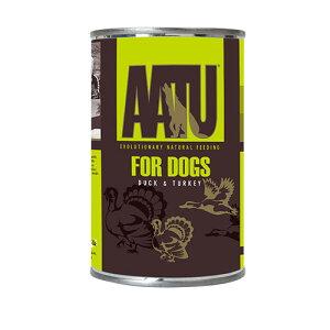 グレインフリー AATU アートゥー ダック&ターキー 400g ウェット 犬用総合栄養食 全犬種成犬用  【犬/ドッグード/穀物フリー】