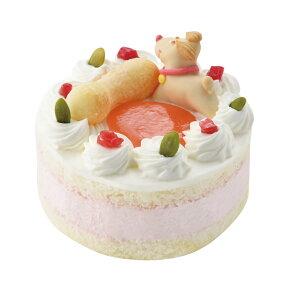 【冷凍商品】国産ペット用 記念日ケーキ ストロベリー味 お名前プレート付き 【犬/ケーキ/猫/記念日/誕生日】 犬 ケーキ 誕生日 犬用 ペット バースデー