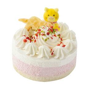 【冷凍商品】国産 猫用 記念日ケーキ お名前プレート付き 【犬/ケーキ/猫/記念日/誕生日】 猫 ケーキ 誕生日 ペット バースデー