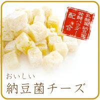 【メール便対応可】国産・無添加おいしい納豆菌チーズ100g【犬/国産/おやつ】