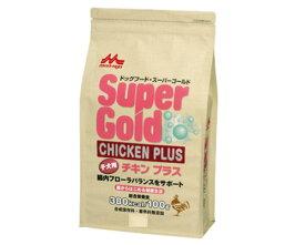 腸からはじめる健康生活 森乳 ドックフード スーパーゴールド チキンプラス 子犬用 2.4kg 【犬/子犬/ドッグフード/国産】