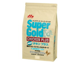 腸内ケア 森乳 ドッグフード スーパーゴールド チキンプラス 体重調整用 2.4kg 【犬/ダイエット/体重管理ドッグフード】