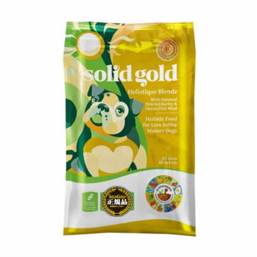 低アレルギーフード ドックフード ソリッドゴールド ホリスティックブレンド 3kg 正規品 【犬/ドックフード/シニア/肥満犬】