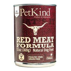 【ケース販売】Pet Kind ペットカインド ドッグフード ザッツイット  レッドミート 缶詰 369g×12 THAT'S IT【犬/高品質/オーガニック/ウェットフード】