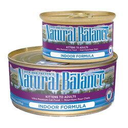 ナチュラルバランス ウルトラプレミアム キャット缶フード インドアキャット フォーミュラ 156g 【ウェットフード/キャットフード/穀物フリー】