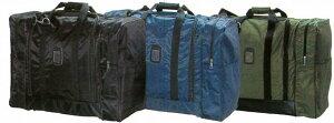 剣道 防具袋 道具袋 FNボストンW(両サイドポケット付) 黒/紺/緑 送料無料 武道園