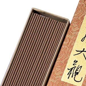 【香木の香りのお線香 バラ詰タイプ お香としてもお楽しみ来ただけます】伽羅大観 バラ詰[株式会社日本香堂] 線香