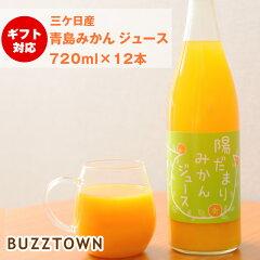 三ケ日みかんジュース720ml瓶果汁100%ストレート無添加添加物保存料着色料香料無添加みかんしぼりみかんジュース