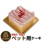 新入荷誕生日ケーキクリスマスケーキワンちゃん用犬用ワンちゃん用コミフベリーと豆乳のモンブランペットケーキ