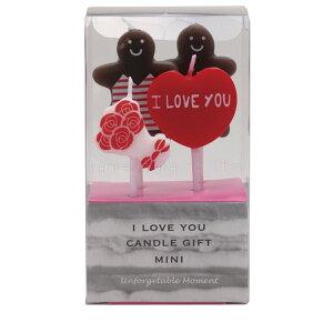 誕生日 バースデーケーキ カメヤマキャンドル アイラブユーキャンドル ギフトミニ かわいいキャンドル I Love You