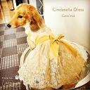 ●シンデレラドレス●【犬用 ワンピース ネックレス セット アクセサリー】/犬用 ドレス アクセサリー ネックレ…
