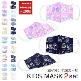 【ゆうパケット配送】マスク 子供 洗える 立体(銀イオン抗菌ガーゼ)人気柄ラインアップ | 布 こども ガーゼマスク キッズマスク 小学生 給食 セット 幼児 女の子 男の子 ウイルス対策 花粉 綿100% 肌に優しい
