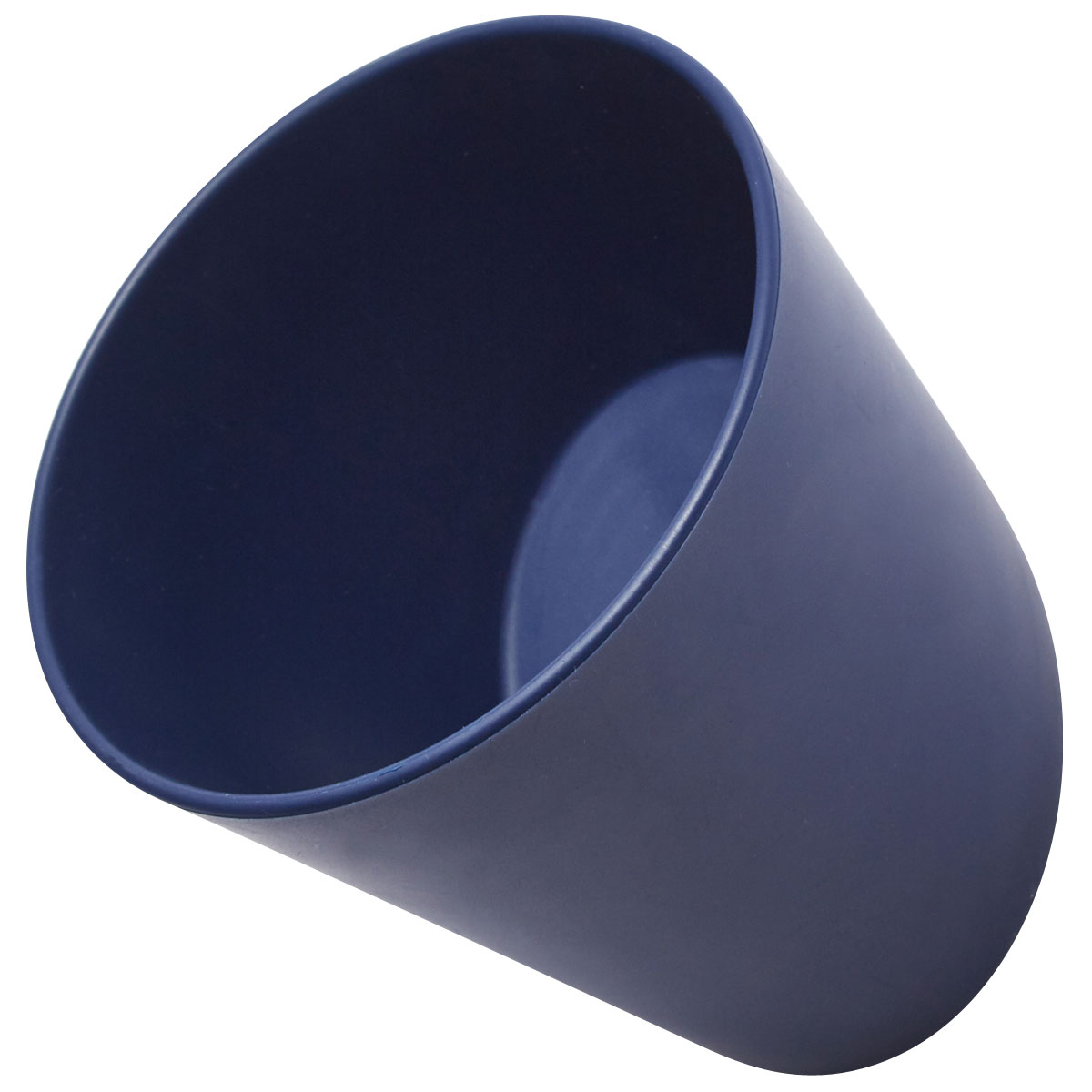 壁面収納 ideaco デカッポ フック&カップ 小物入れ イデアコ 壁面収納 decuppo ネイビー