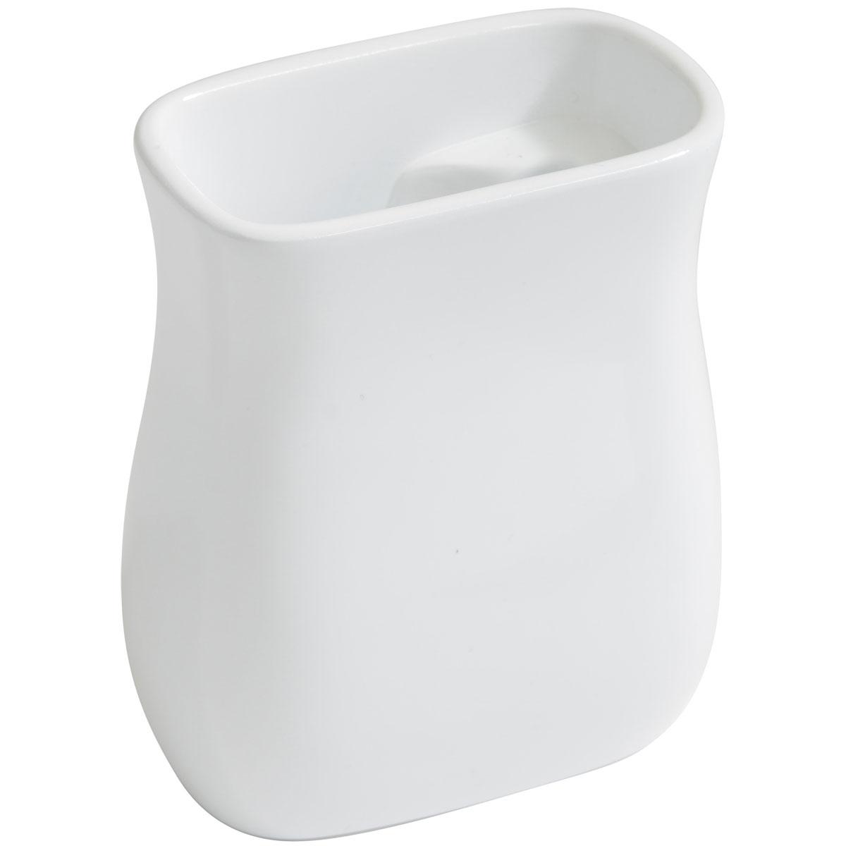 【選べるカラー】トイレブラシスタンド ideaco SB pot 流せるトイレブラシ用 イデアコ エスビーポット ホワイト