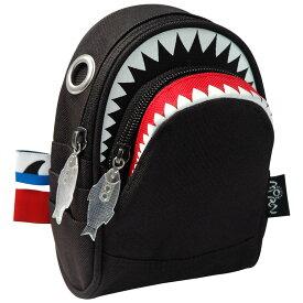 ポーチ MORN CREATIONS シャーク ポーチ 小物入れ モーンクリエイションズ ポーチ サメ ブラック