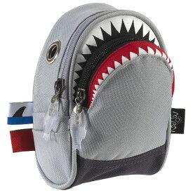 ポーチ MORN CREATIONS シャーク ポーチ 小物入れ モーンクリエイションズ ポーチ サメ グレー