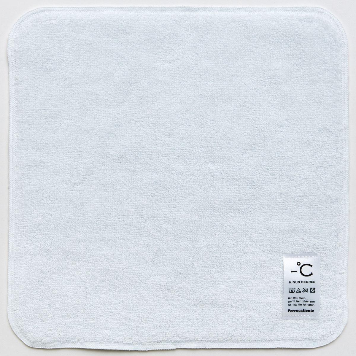 【選べるカラー】ハンカチ -°C MINUS DEGREE タオルハンカチ ハンドタオル マイナス ディグリー クールホワイト