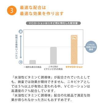 ニキビ化粧水ニキビ跡ニキビケアセラVCローション100mlレギュラーサイズ
