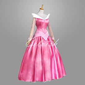 眠れる森の美女 オーロラ姫風ドレス ドレス プリンセスドレス コスプレ衣装 パーティー cl-2724D001