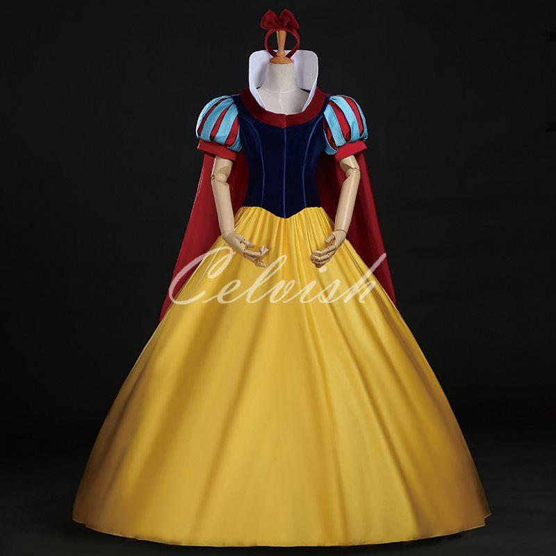 スノーホワイト 白雪姫 ドレス プリンセスドレス コスプレ衣装 パーティー cl-2923D010