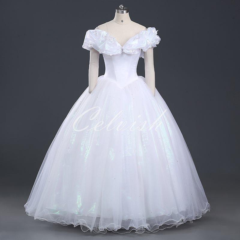 シンデレラ 風 ドレス ディズニー ハロウィン コスプレ ドレス プリンセスドレス コスプレ衣装 パーティー cl-2923D022