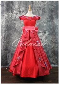 アバローのプリンセス エレナ風大人ドレス プリンセスドレス コスプレ 衣装 仮装 ドレス プリンセスドレス コスプレ衣装 パーティー cl-3023D032