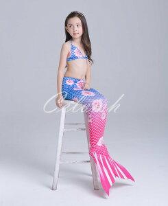 ガールズ コスプレ 人魚 水着 リトルマーメイド アリエル プリンセス 子供 スイムウエア CEL-29588195B| セルビッシュアップ