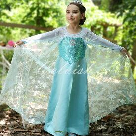 486ace965a23e エルサ 風 アナ雪 プリンセスドレス コスプレ ドレス 子供 ドレス 衣装 仮装 c-30580382