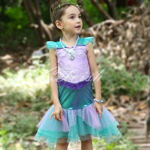 人魚姫 アリエルプリンセスドレス コスプレ ドレス 子供 ドレス 衣装 仮装 CEL-573907673130| セルビッシュアップ