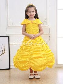コスプレ ドレス ベル 風 子供 ドレス プリンセスドレス 美女と野獣 衣装 仮装 c-30650E39