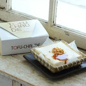 (送料別)とろふわトーフチャウデ(生姜クランチ付き) レアチーズケーキ  豆腐 ギフト プレゼント洋菓子 和菓子 スイーツ 内祝い 誕生日 お中元 御中元