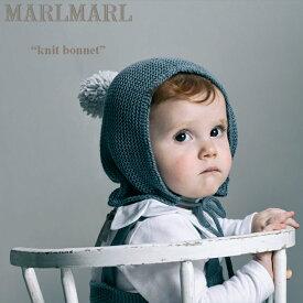 """マールマール MARLMARL """"knit bonnet ニットボンネット"""" 【ベビー 赤ちゃん 新生児 子供 キッズ まあるまある プレゼント ギフト GIFT 出産祝い】 正規品 正規取扱店"""