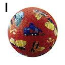 子供用ボール 18cm オモチャ カラフルボール 天然ラバー 中くらいのサイズのボール クロコダイルクリーク Crocodile C…