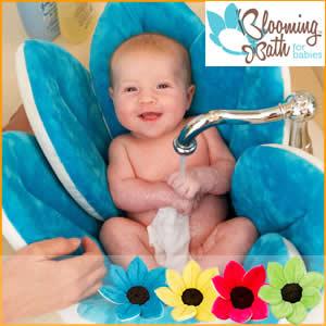 【SALE】贈り物に最適【赤すぐ掲載商品】【世界番付紹介商品】お花が咲いたような沐浴マット♪カラフルでかわいい♪ ブルーミングバス全4色 赤ちゃんをしっかり包み込む♪
