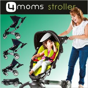 【送料無料☆】【2年保証】日本総輸入元正規品 ★4moms stroller フォーマムズストローラー (アメリカ名:origami オリガミ) 自動折りたたみ ベビーカー おりがみ