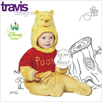 Disney 디즈니 푸우 아기 옷 아기 옷 인형 코스 프레 귀여운 아기 소년 소녀