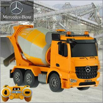 作品作品梅赛德斯-奔驰系列 RC 模型钢筋混凝土搅拌机混凝土搅拌车汽车车建设车辆重生日礼物!