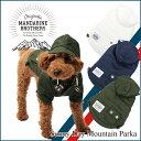 【犬 ジャケット】服 冬 パーカー マウンテンパーカー ジャケット 小型犬 中型犬 MandarineBrothers/SunnyDayMountainPark...