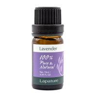 Lapature100%PURE&NATURALエッセンシャルオイル10mlラベンダー(Lavender・真正ラベンダー)