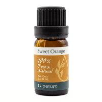Lapature100%PURE&NATURALエッセンシャルオイル10mlスィートオレンジ(SweetOrange)