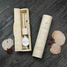 トスダイス(tossdice) バンブー&ティー(Bamboo & Tea) フレグランス・ウッデンケース リードディフューザー 50ml 父の日 引越祝い プレゼント ラッピング