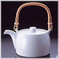 白山陶器 ティー土瓶 白磁 580ml